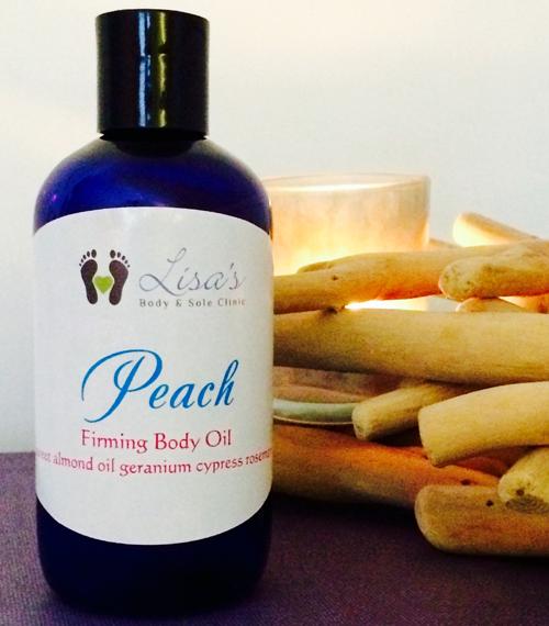 Peach Firming Body Oil